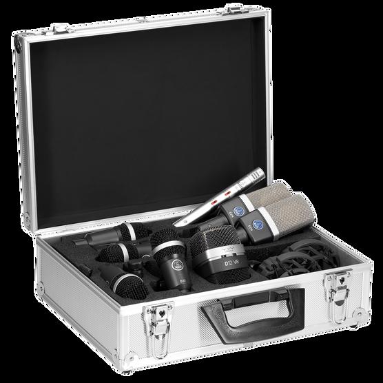Drum Set Premium - Black - Reference drum microphone Set - Hero