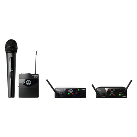 WMS40 Mini - Black - Professional plug&play wireless system - Hero