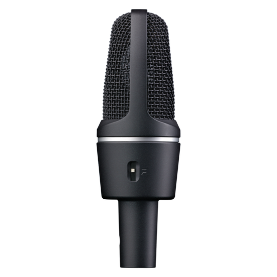C3000 - Black - High-performance large-diaphragm condenser microphone - Left