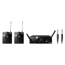 WMS40 Mini Dual Instrumental Set Band ISM2/3 - Black - Wireless microphone system - Hero