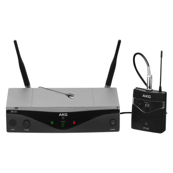 WMS420 Presenter Set Band-A - Black - Professional wireless microphone system - Detailshot 1