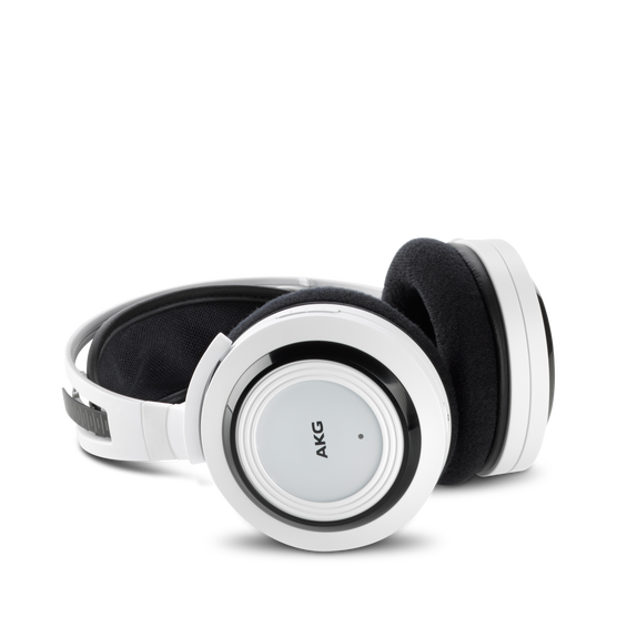 K 935 - White - High performance digital wireless stereo headphone optimized for movies, games and music - Hero