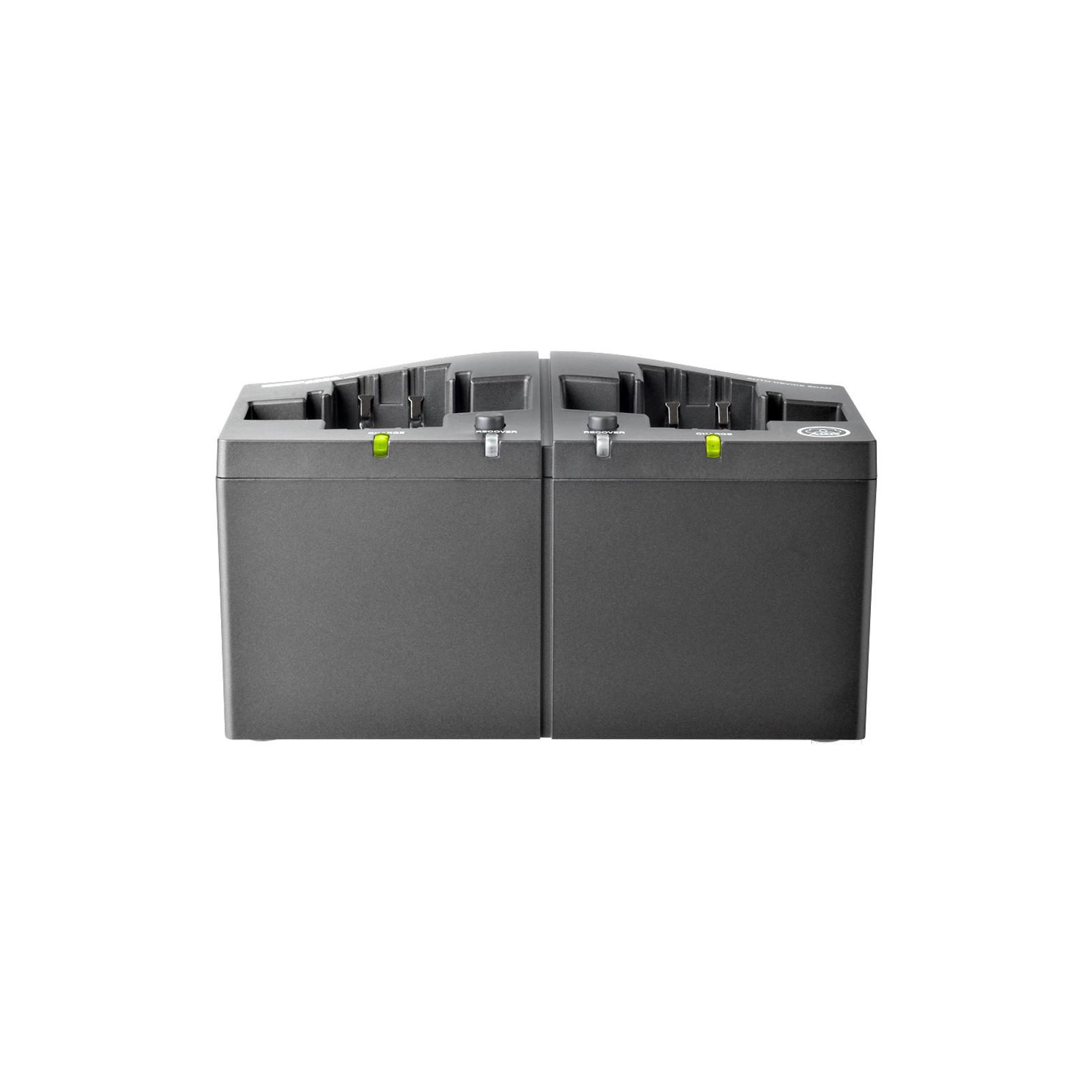 CU4000 - Black - Charging unit for HT4500 and PT4500 transmitters and SPR4500 IEM receiver - Detailshot 1
