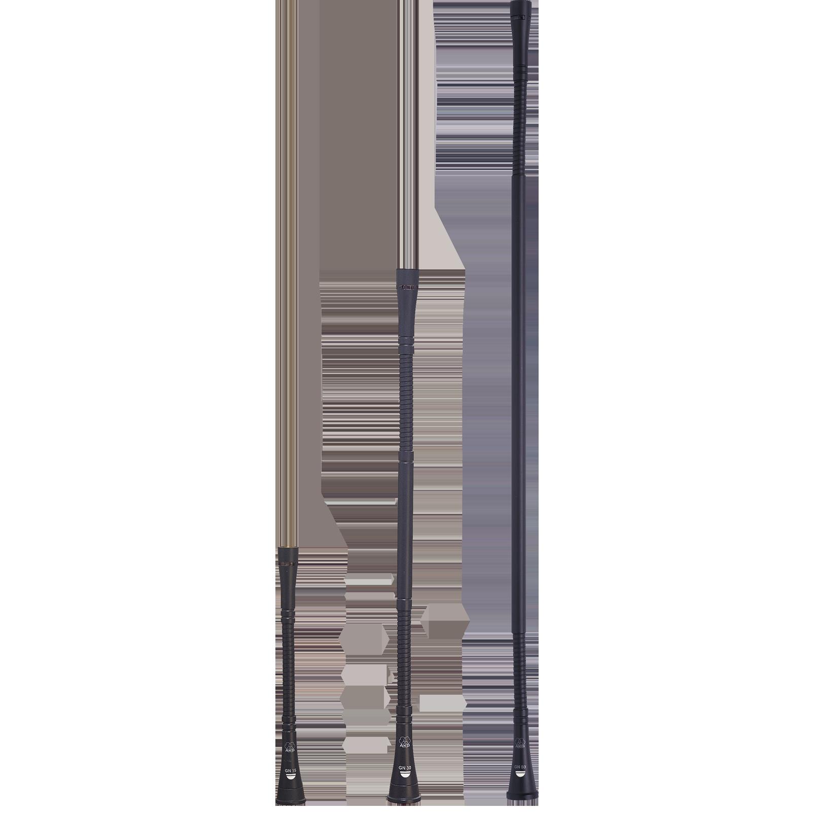 GN30 - Grey - 30cm (12in) High-performance modular gooseneck module - DAM Series - Hero
