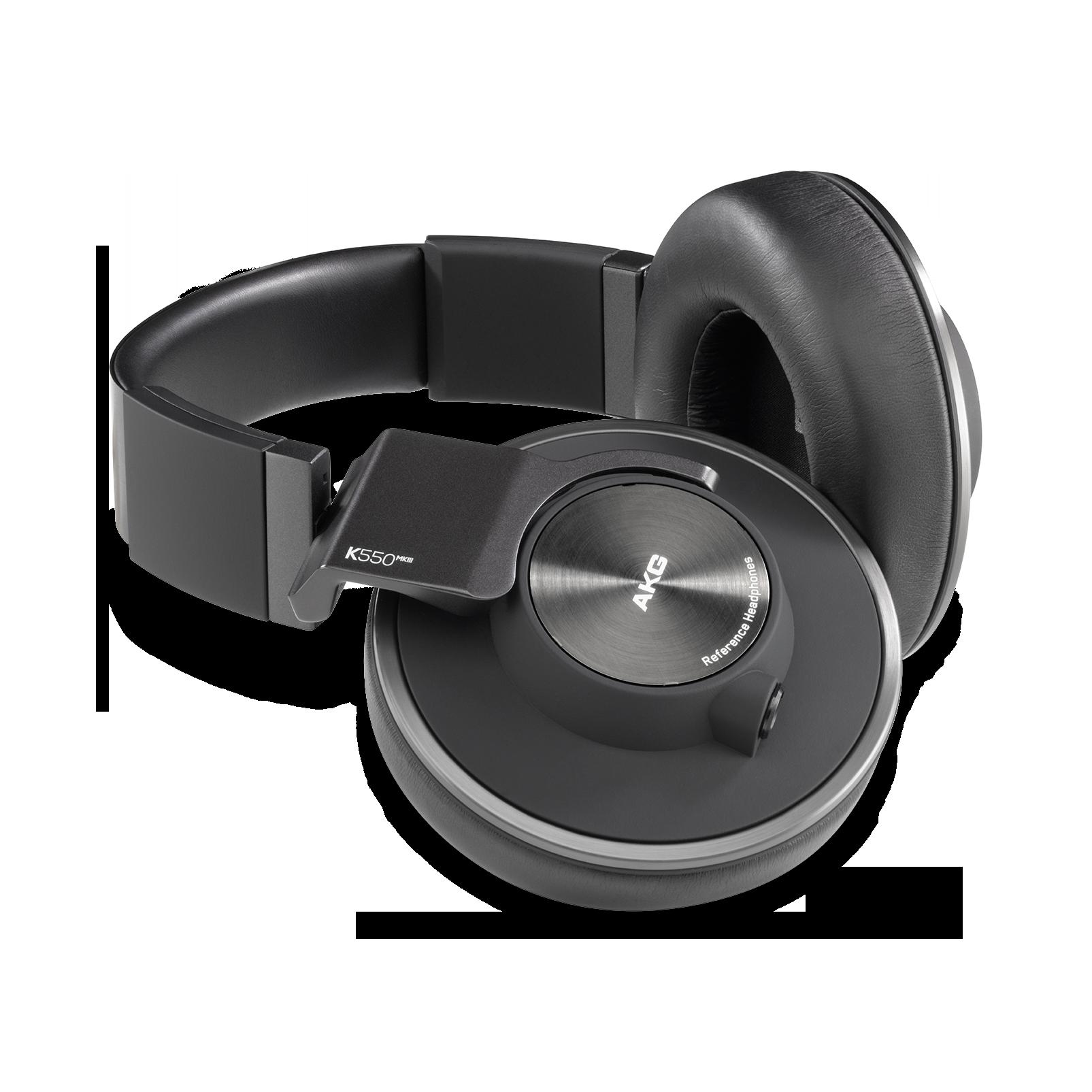 AKG K550 MKIII - Black - Closed-back reference over-ear headphones. - Hero